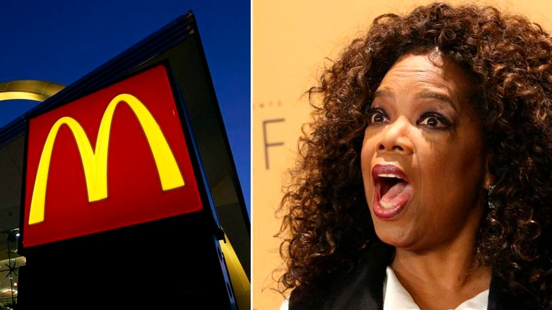 oprah mcdonalds reuters AP