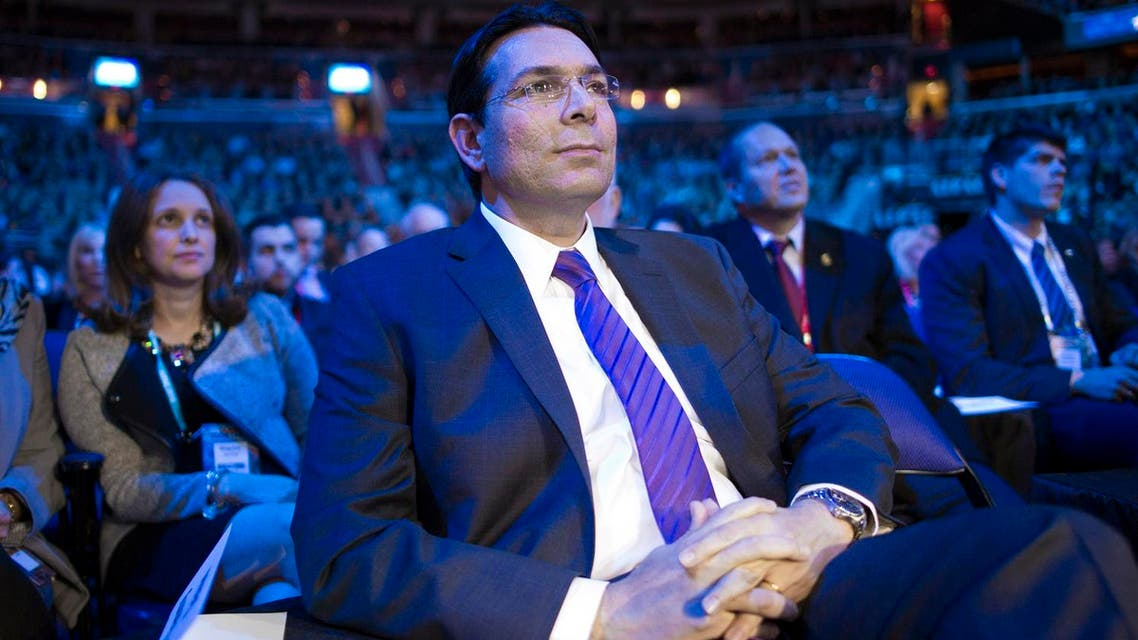 Israeli ambassador Danny Danon  said one of his first tasks will be to advance the Comprehensive Convention on International Terrorism. (File photo: AP)