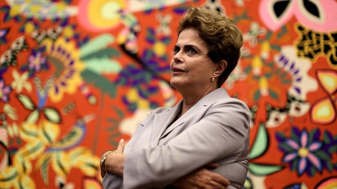 Suspended Brazilian President Dilma Rousseff attends a news conference with foreign media in Brasilia, Brazil, June 14, 2016. REUTERS