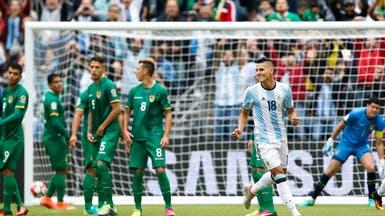 الأرجنتين تحسم صدارة مجموعتها خلال شوط واحد