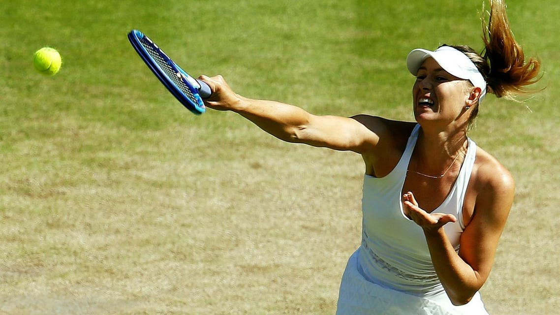 Sharapova stunned the sporting world in March when she announced that she had tested positive for meldonium. (File photo: AFP)