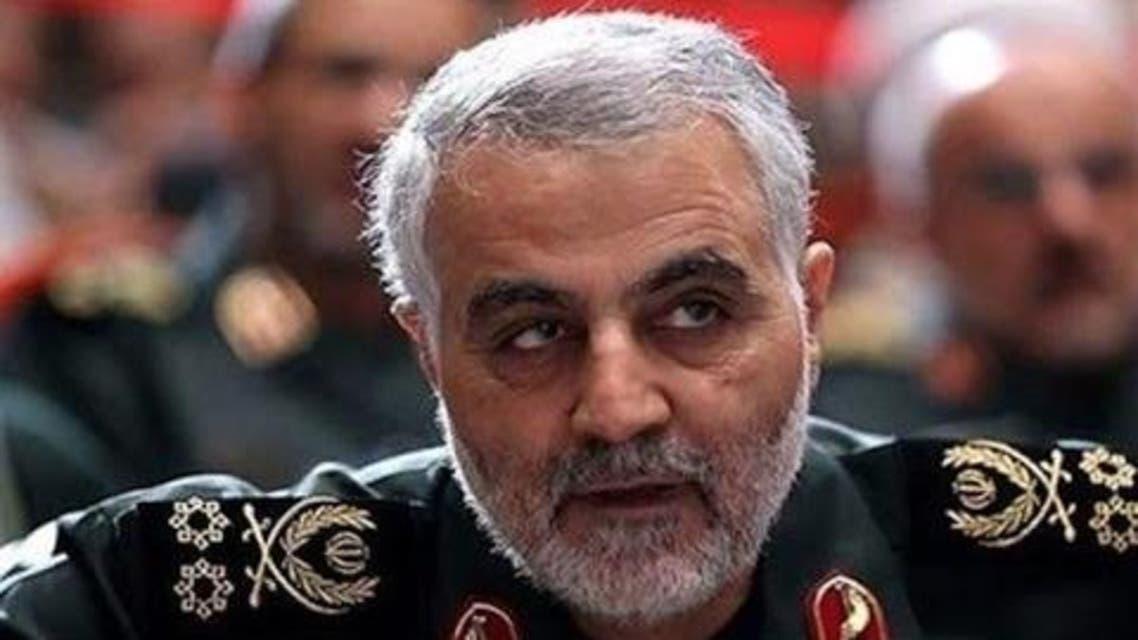 قاسم سليماني مسؤول فيلق القدس في الحرس الثوري الإيراني