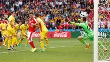 سويسرا تقترب من الدور الثاني بفضل نقطة رومانيا