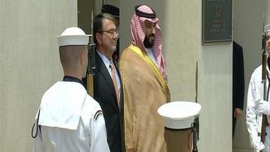محمد بن سلمان يبحث القضايا الإقليمية مع قادة أميركا