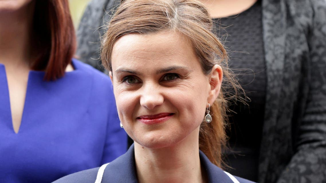 MP Jo Cox is seen in Westminster May 12, 2015. reuters