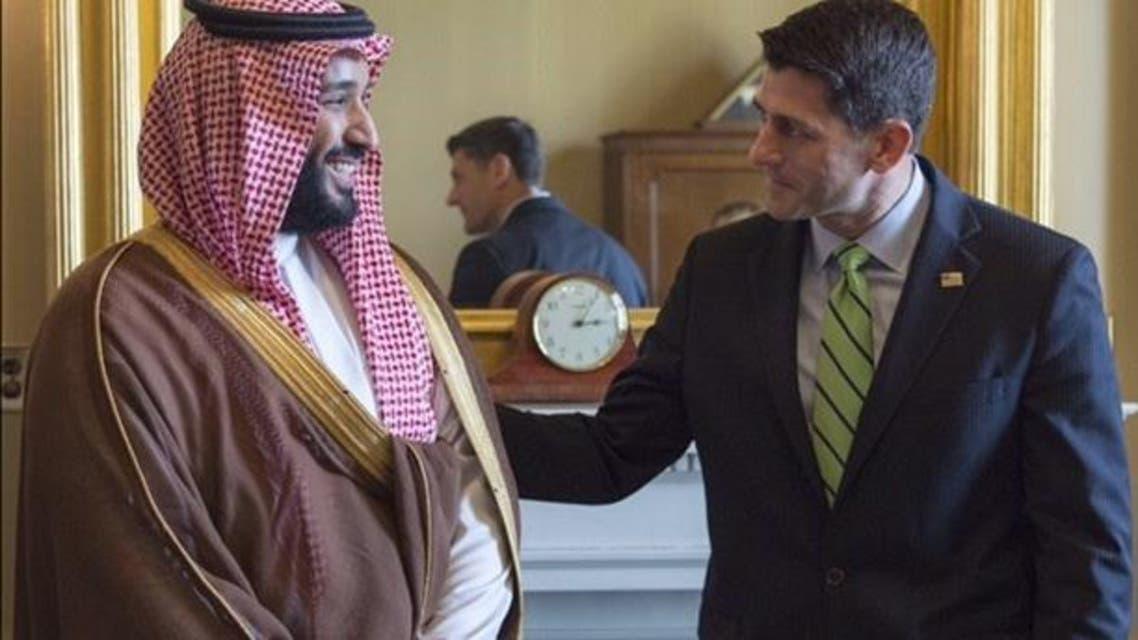 Saudi Deputy Crown Prince meets key US officals