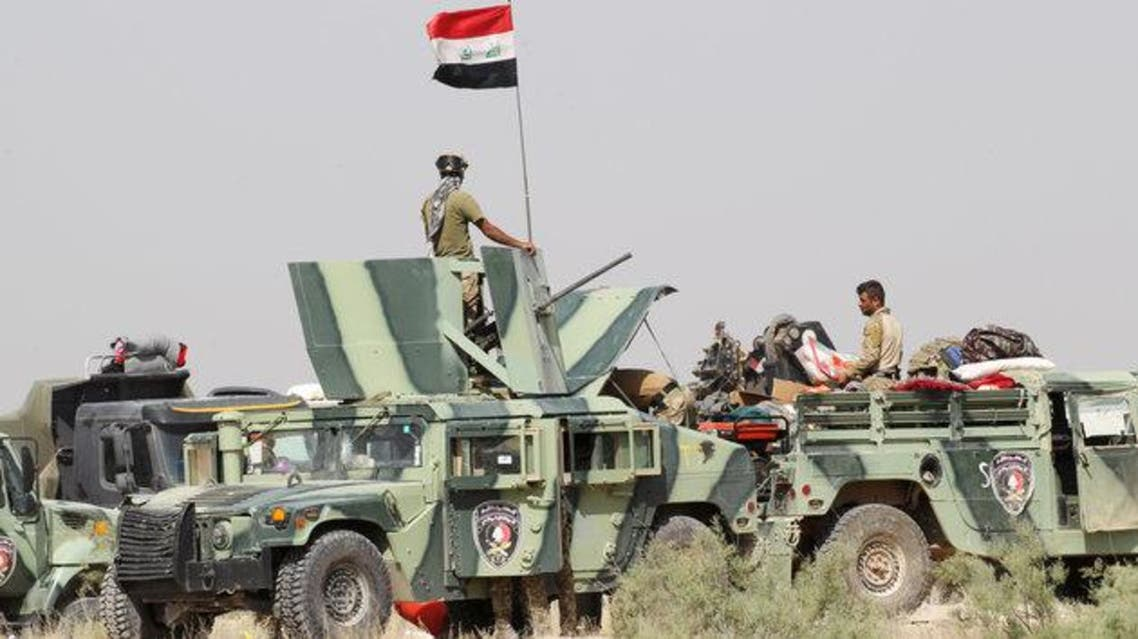 لقوات العراقية في ضواحي الفلوجة