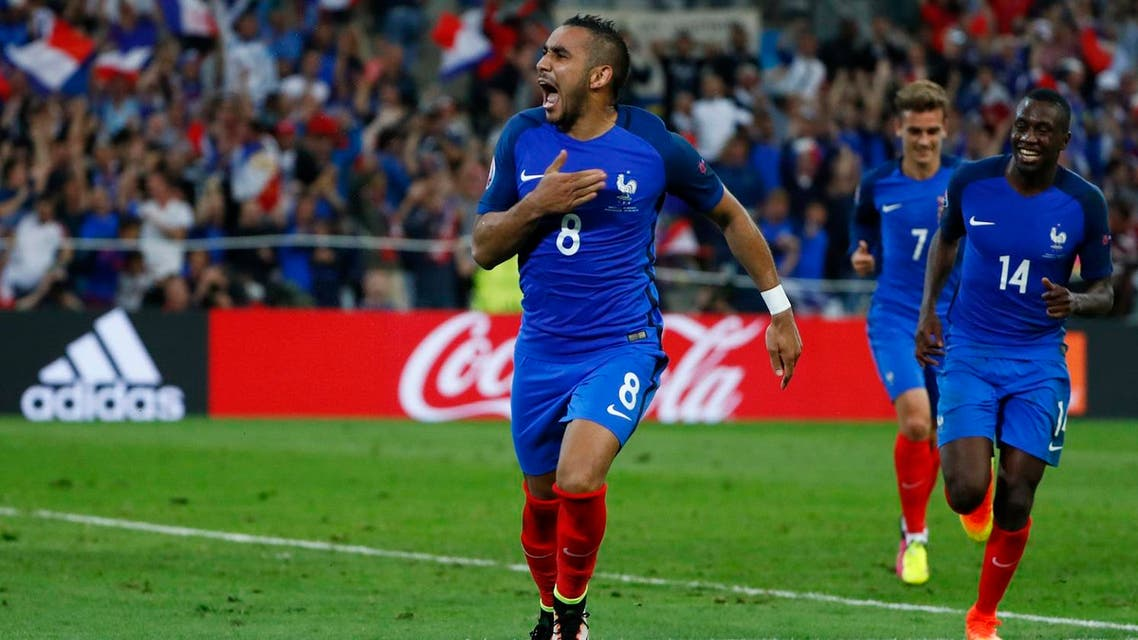 France progressed to the second round of the European Championship they're hosting with a 2-0 win over Albania. (Reuters)