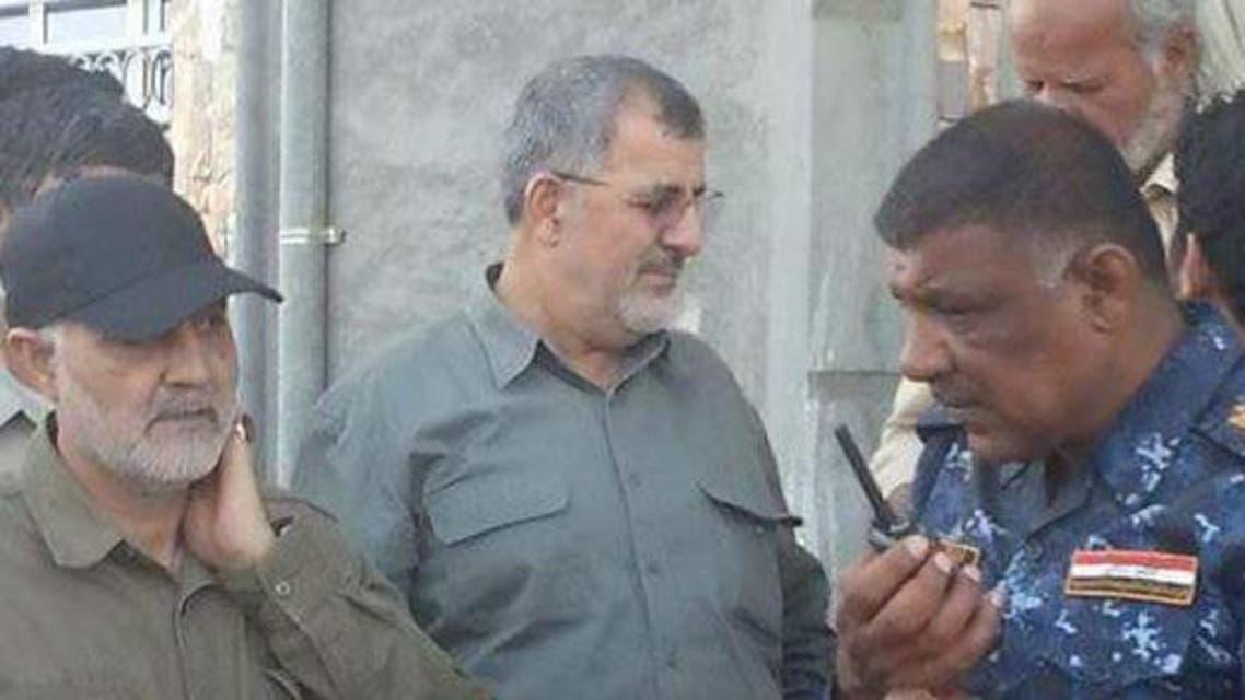 سليماني وباكبور وقائد فرقة المغاوير في الشرطة الاتحادية العراقية