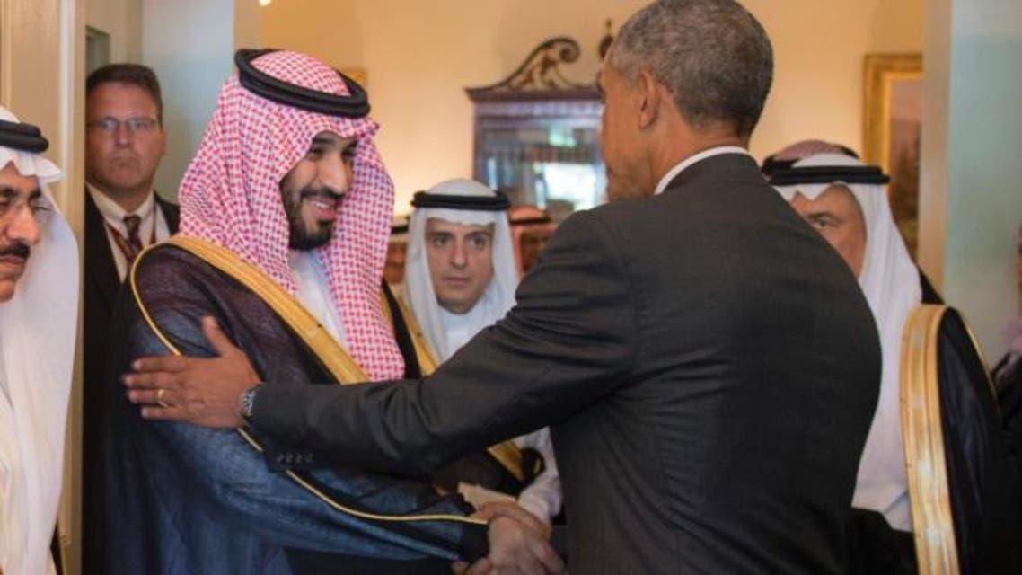 أوباما والأمير محمد بن سلمان
