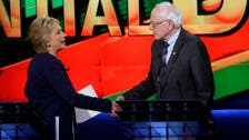 Sanders vows to work with Clinton to defeat Trump