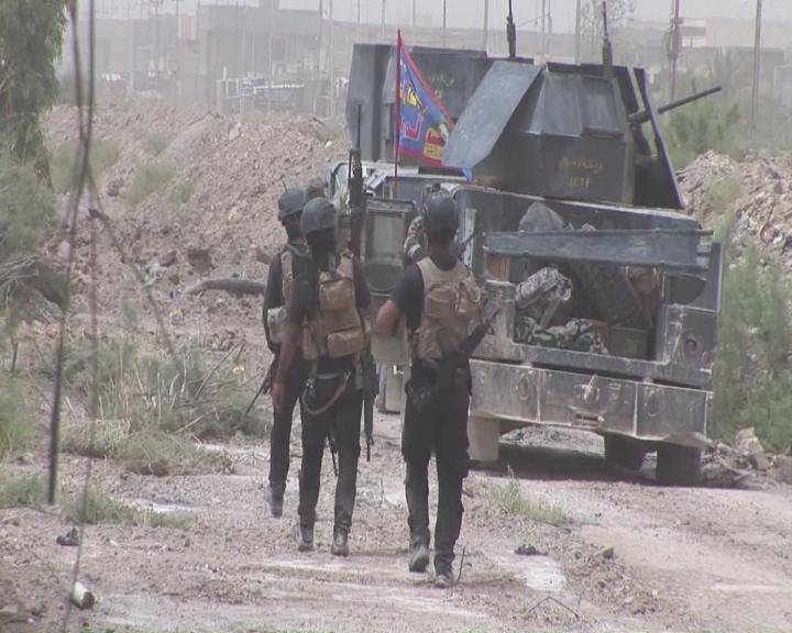 نیروهای عراقی در حال باز پسگیری فلوجه