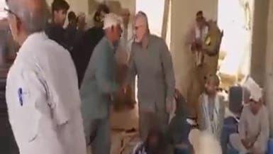 أول فيديو مسرب للإرهابي قاسم سليماني في الفلوجة