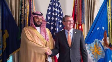 محمد بن سلمان: نعمل مع واشنطن لمواجهة الإرهاب