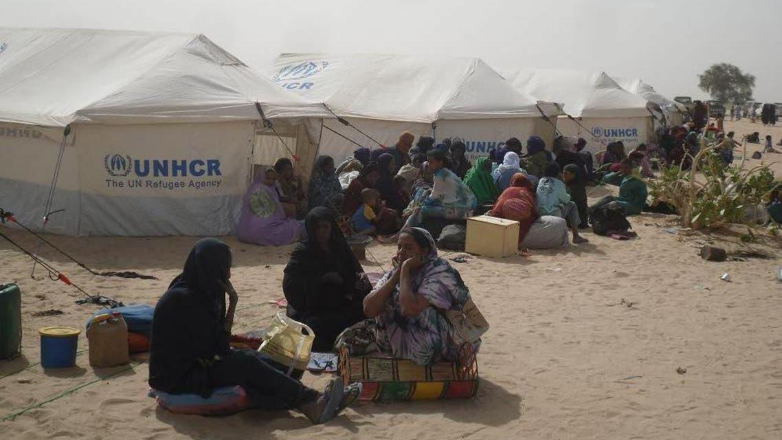 مخيمات اللاجئين الماليين جنوب موريتانيا