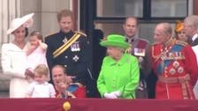 Watch the Queen telling off Prince William in front of the world