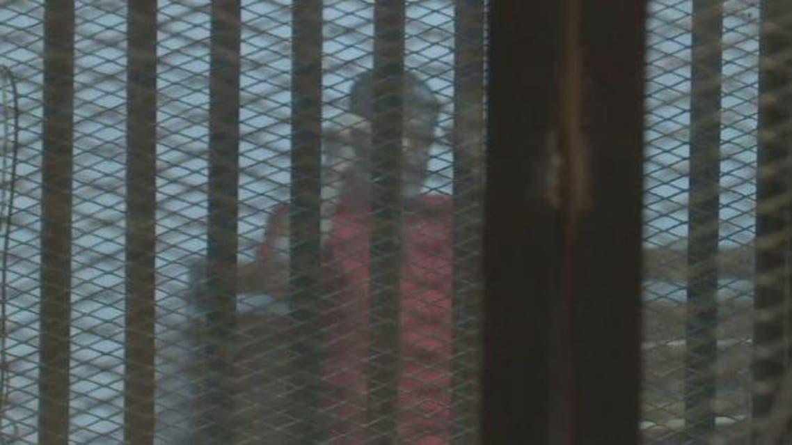 جلسة النطق بالحكم على محمد مرسي