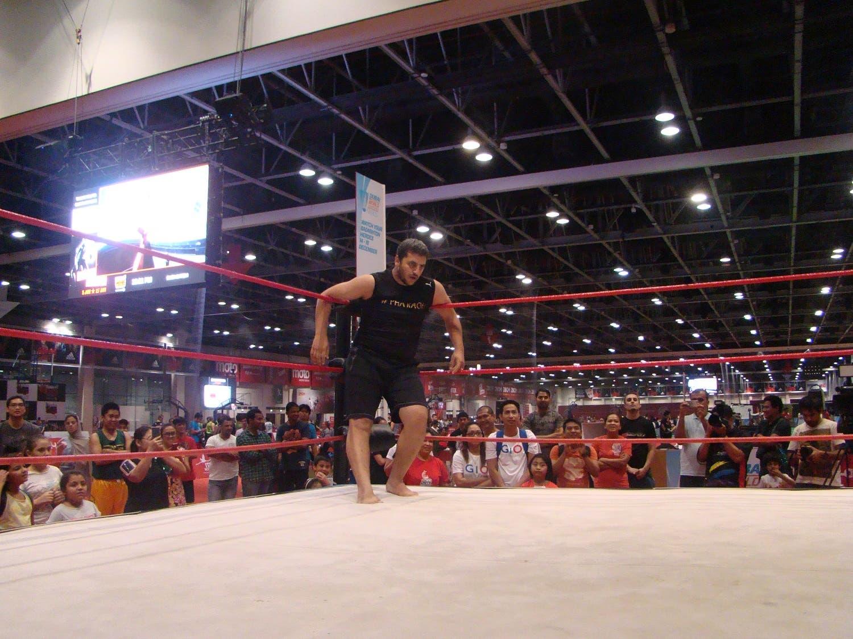 The Pharoah looking helpless and beaten down. (Tarek Ali Ahmad, Al Arabiya English)