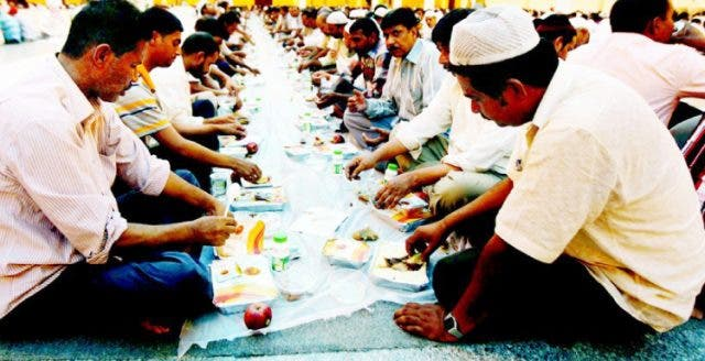 Some people believe so much food is wasted at these mass iftars while others dismiss such apprehensions