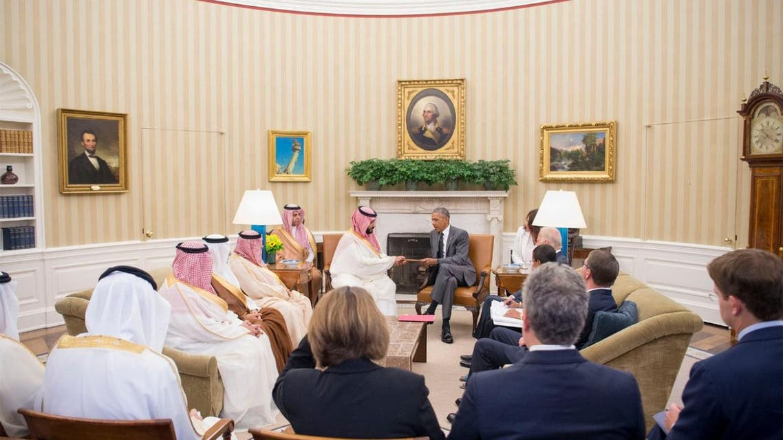 obama mohammed bin salaman saudi crown prince SPA