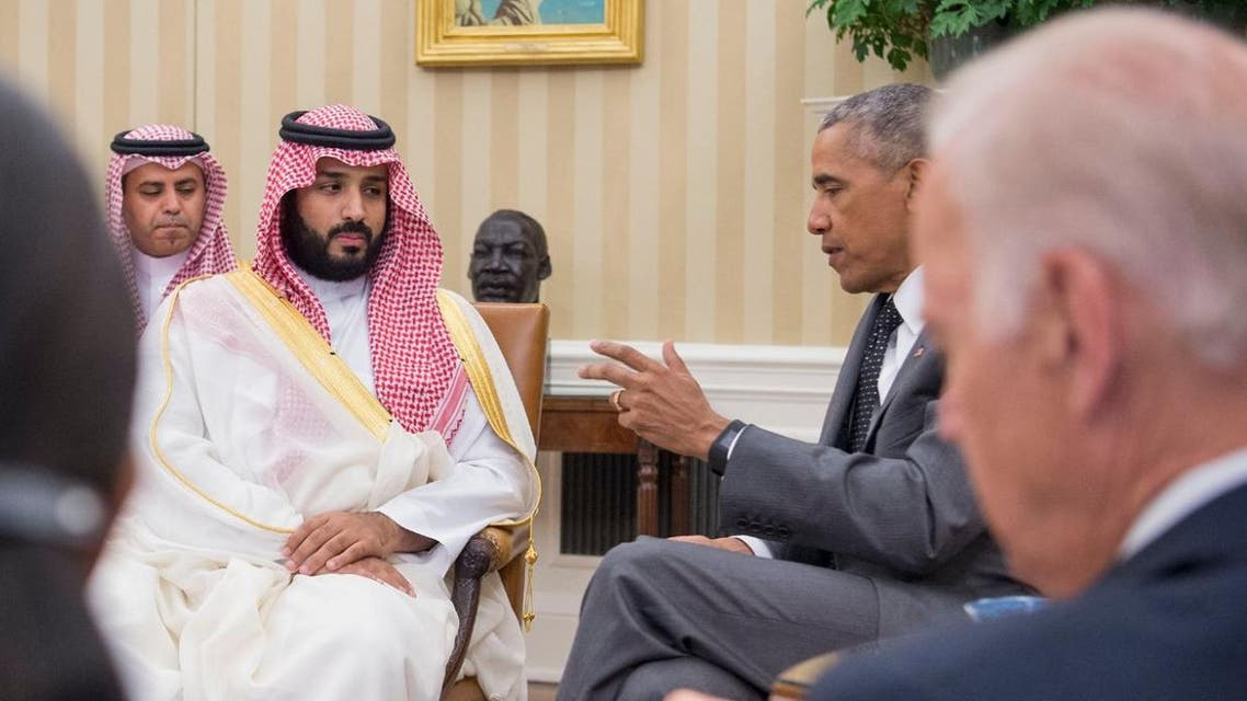 اوباما مع الامير محمد بن سلمان