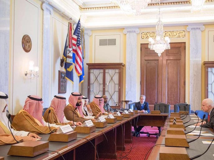 بالصور.. زيارة ولي ولي العهد السعودي إلى واشنطن