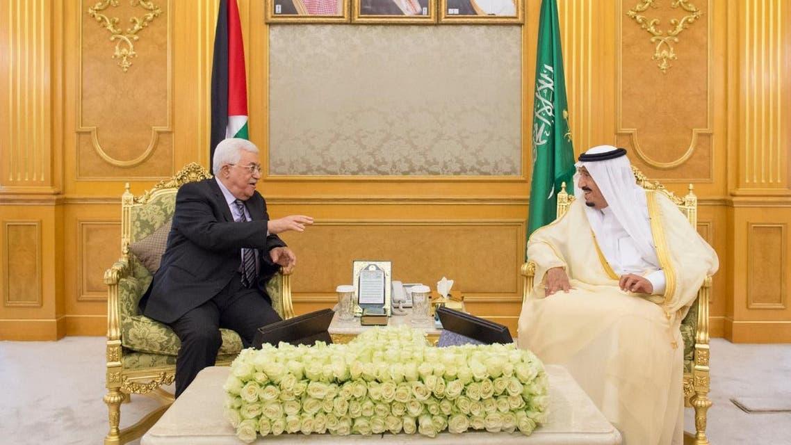 الملك سلمان محمود عباس