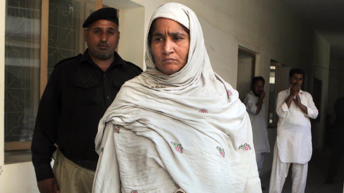 Amina Bibi is accused of killing her pregnant daughter.