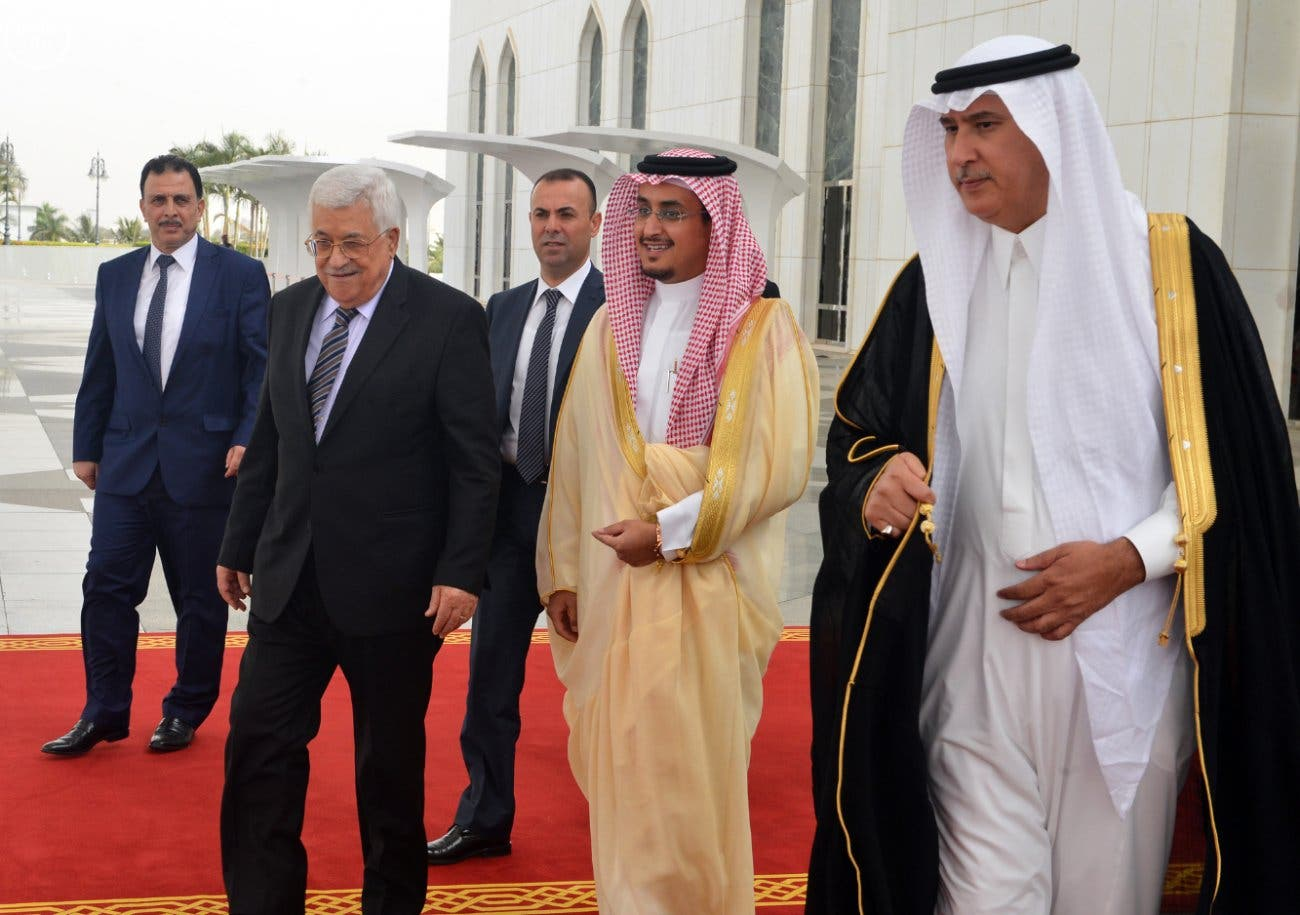 مغادرة الرئيس عباس