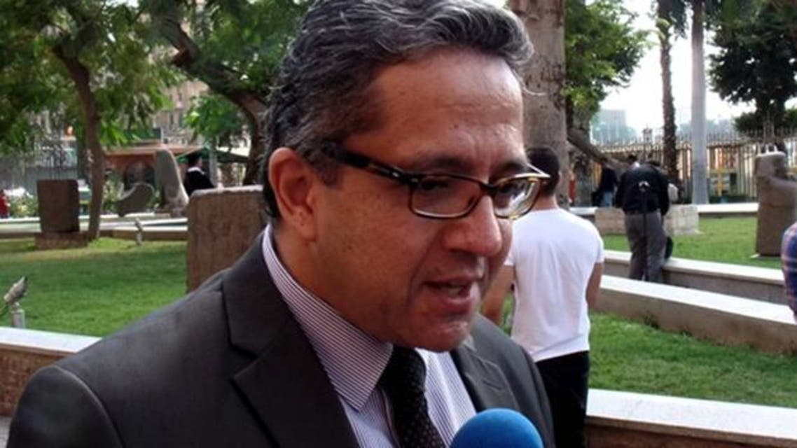 الدكتور خالد العناني وزير الآثار المصري