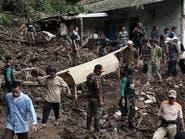 30 قتيلاً حصيلة فيضانات وانزلاقات في إندونيسيا