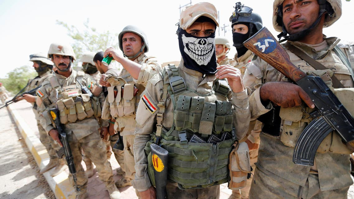 Iraqi troops enter Fallujah