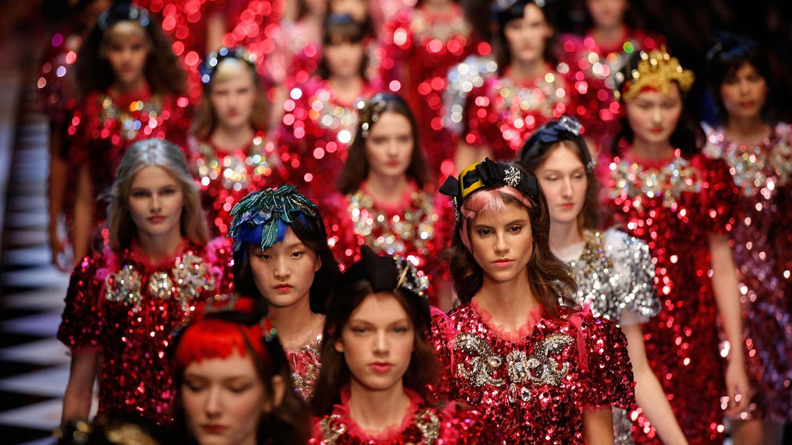 Dolce&Gabbana jazz things up with fashion cacophony (AP)