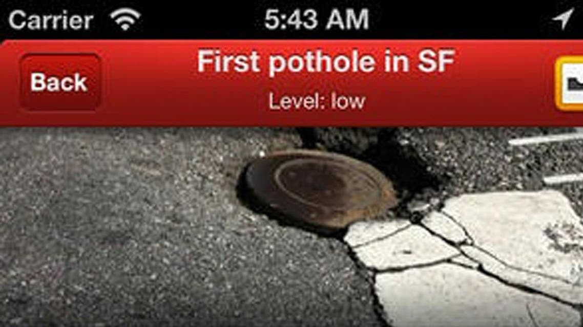 Hofra is a mobile app that allows users to exchange information about 20,000 road hazards. (via Hofra)