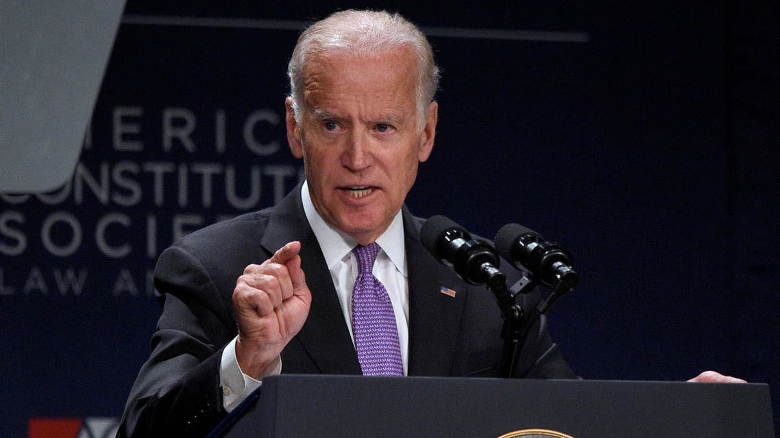 Vice President Joe Biden speaks at the American Constitution Society for Law and Policy 2016 National Convention, Thursday, June 9, 2016, in Washington. (AP)