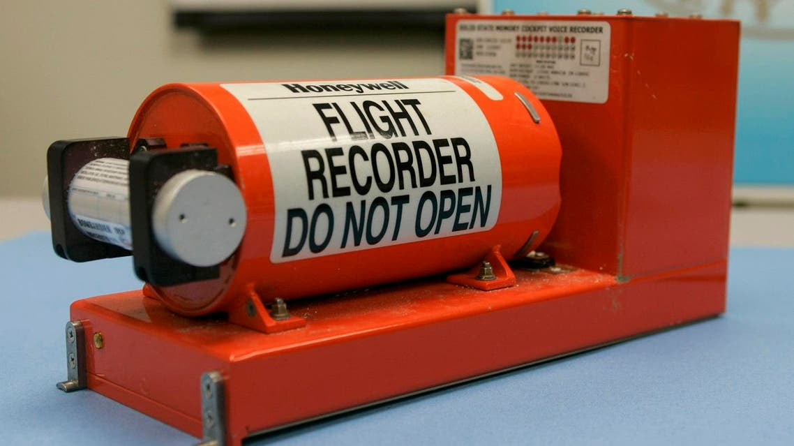 FIle photo shows the Cockpit Voice recorder from a 2009 crash of Continental Connection flight 3407 at NTSB headquarters in Washington. (File photo: Reuters)