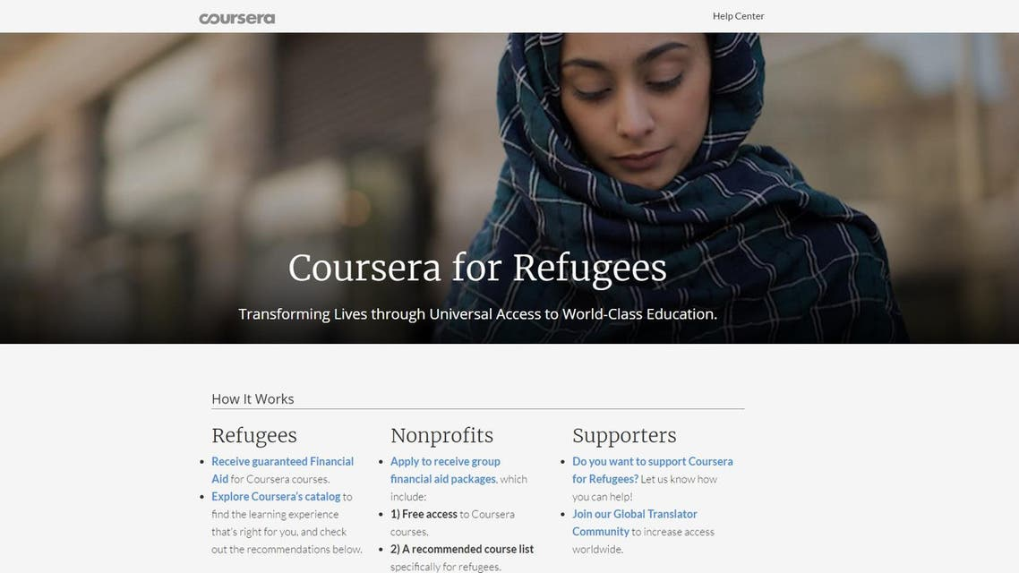 coursera for refugees