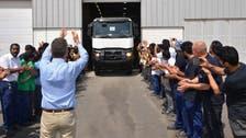 Renault rolls out first Saudi-built trucks