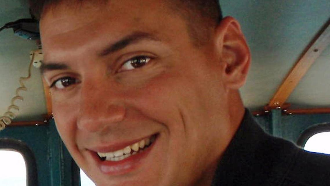 This undated photo obtained from the family of Austin Tice, shows American freelance journalist Austin Tice, 31, who has been missing in Syria since mid-August, 2012.