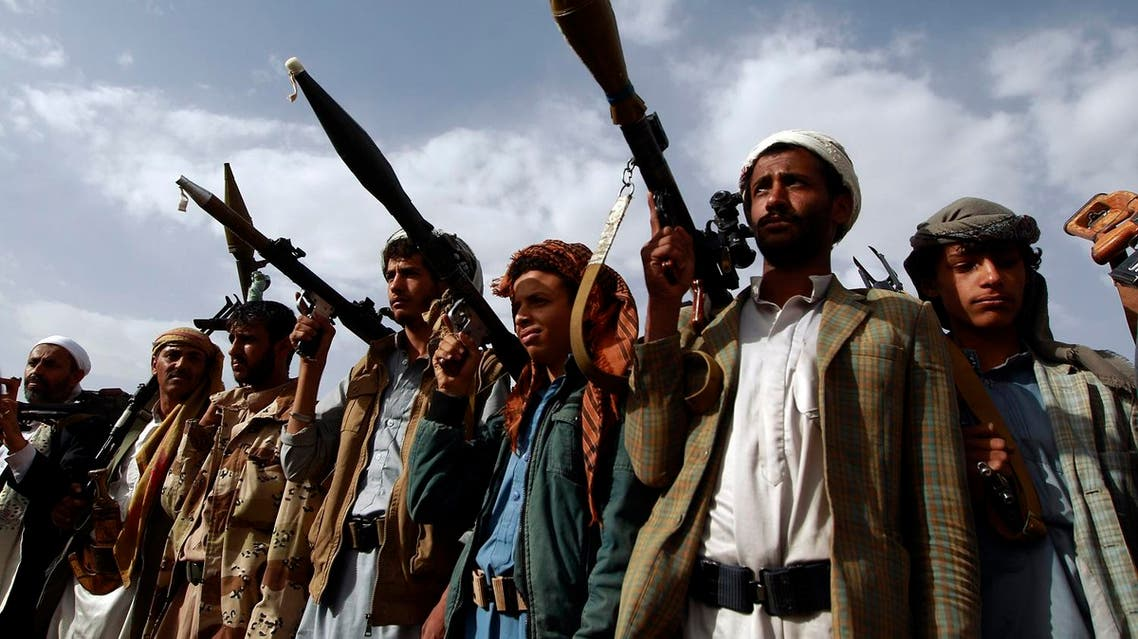 Security arrangements under Resolution 2216 require the Houthi militias and their allies to withdraw from areas they occupied in 2014. (AFP)