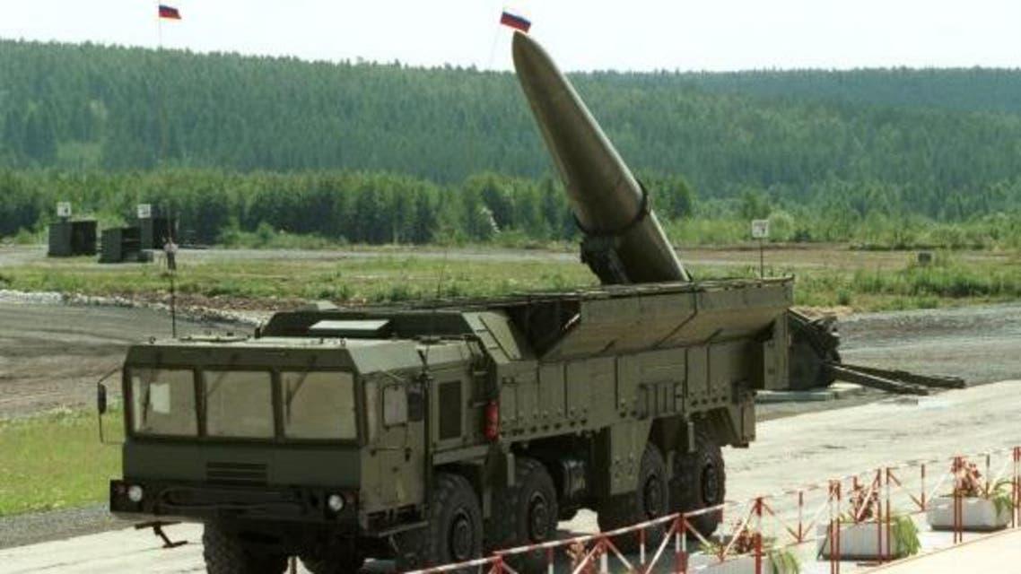 صواريخ اسكندر الروسية