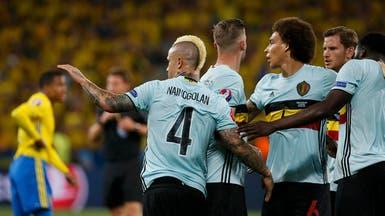 بلجيكا تهزم السويد وتبلغ دور ثمن النهائي
