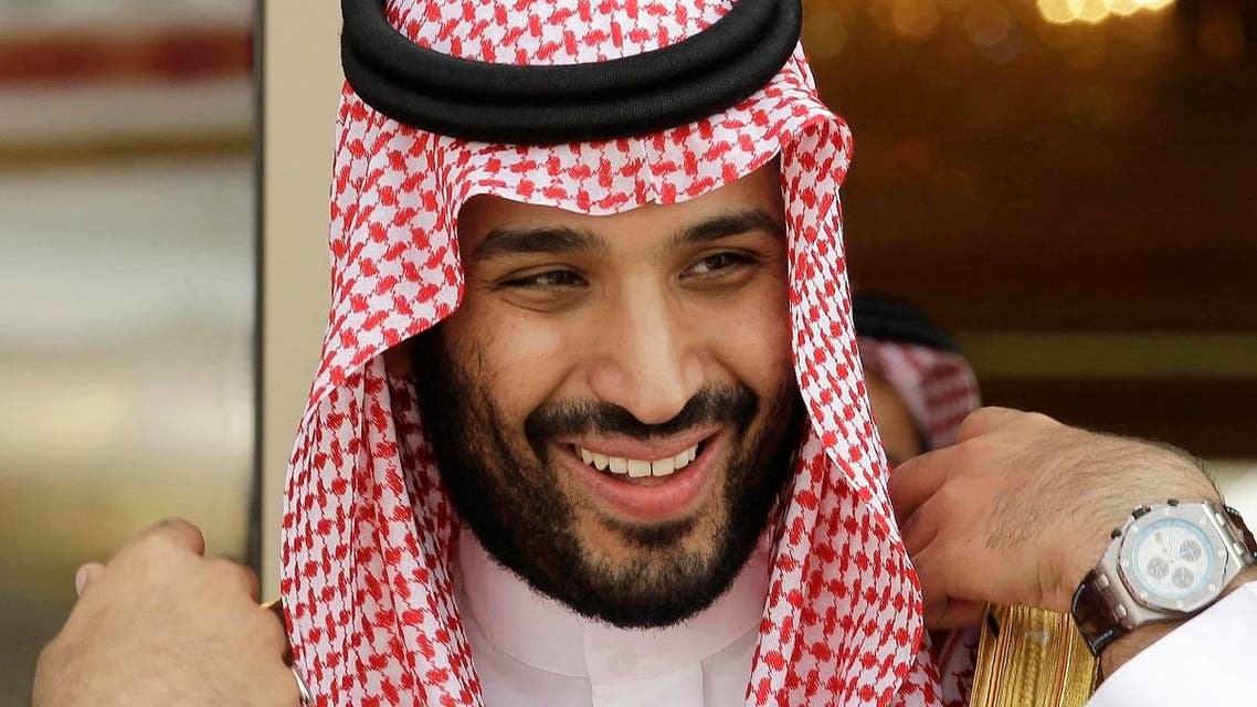 "In this Monday, May 14, 2012 file photo, Prince Mohammed bin Salman waits for Gulf Arab leaders ahead of the opening of Gulf Cooperation Council, as known as GCC summit, in Riyadh, Saudi Arabia. King Salman announced the approval for the ""Vision 2030"" plan in a short televised announcement on Monday in which he called on Saudis to work together ensure its success. (AP Photo/Hassan Ammar, File)"