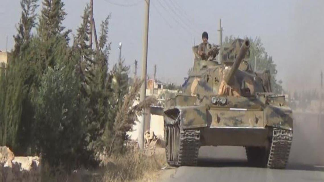 THUMBNAIL_ قوات سوريا الديمقراطية تدخل منبج