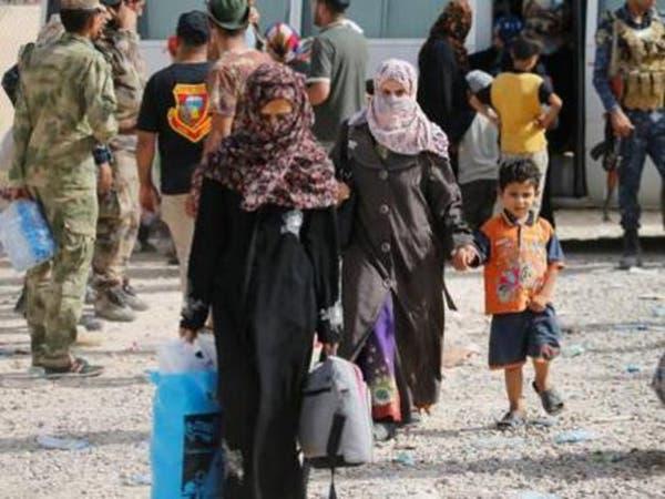 العراق..2000 عائلة نزحت من راوة والقائم خلال 10 أيام