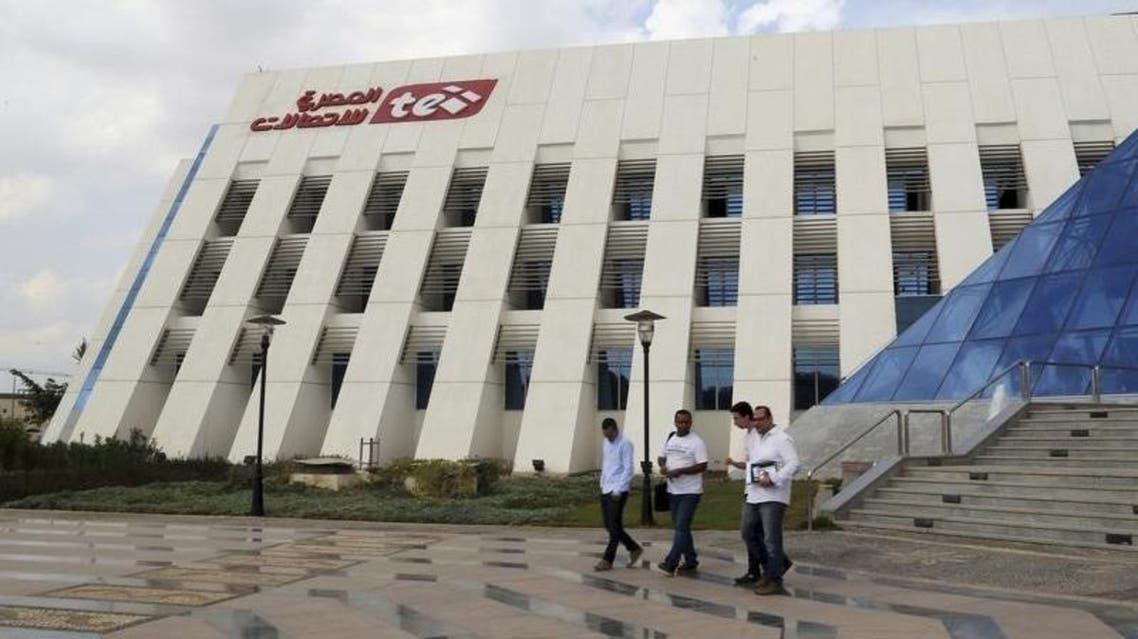 Egypt telecom REUTERS