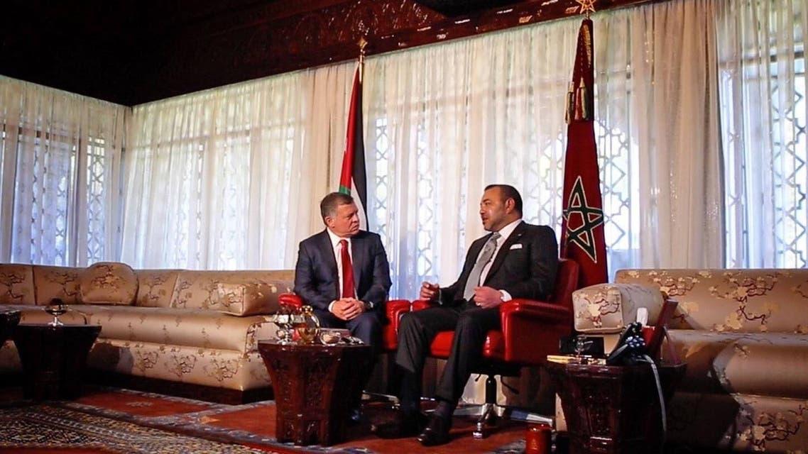 عاهلا المغرب والأردن
