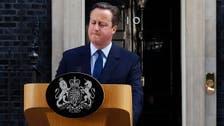 David Cameron to step down as Britain exits EU