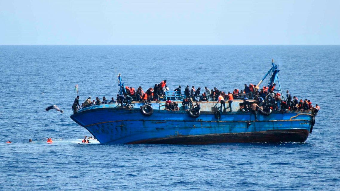More than 10,000 people have died crossing the Mediterranean to Europe in overcrowded boats since 2014, according to UN figures. (File photo: AFP)