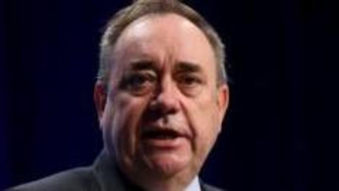 الزعيم السابق للحزب القومي الاسكتلندي أليكس سالموند